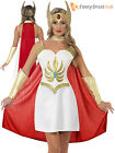 Ladies Deluxe She-Ra Costume Adult Sexy Superhero Princess of Power Fancy Dress