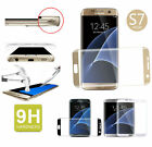 Full Cover Curved Tempered Glass Screen Flim For Samsung Galaxy S6/S7 Edge Plus*