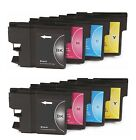8 x Inkjet Cartridges ( 2 Sets ) Non-OEM Alternative For Brother LC985XL,LC985
