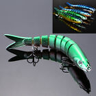 Multi Jointed 8 section Fishing Lures Swimbait Sinking Bass CrankbaitsTackle