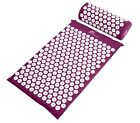 acupressure pillows - ProSource Acupressure Mat and Pillow Set Back Neck Pain Relief Muscle Relaxation