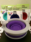 TUFFY STEEPER Collapsible Silicone Tea Strainer Coffee Filter NIB