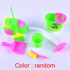 6Pcs Home Furniture Furnishing Cleaning Cleaner Kit For Barbie Doll House Set