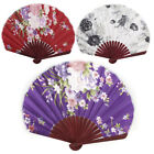 Seashell Design Flower Pattern Chinese Style Wedding Party Foldable Hand Fan