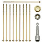 87mm INDEX RAILWAY SLEEPER FASTENER LANDSCAPE SCREWS DECKING TIMBER FIX LOCK
