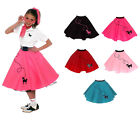 Hip Hop 50s Shop Girls Poodle Skirt Halloween/Dance Costume