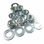 "1/4"" 5/16"" 3/8"" 7/16"" 1/2"" UNF FULL NUTS, NYLOC NUT, METAL LOCKING NUT & WASHERS"