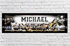 Personalized Boston Bruins Name Poster with Border Mat Wall Painting Banner $16.5 USD on eBay
