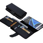 New Wallet Case 7 Card Slots Leather Case Cover For Samsung Galaxy S7 S7 Edge