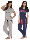 Womens Loungewear Set Ladies T Shirt Top Lounge Joggers Pants New Size 8 - 22