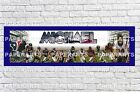 Personalized NFL Houston Texans 2 Name Poster with Border Mat Customized Banner $16.5 USD on eBay