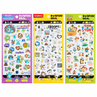 SOUTH KOREA MADE MONSTERS UNIVERSITY SNOOPY PEANUTS TOY STORY PVC STICKERS
