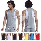 Men New Dryfit Sleeveless Vest Sports Running Gym Singlet Tank Top S-XL