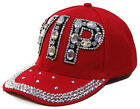 New Women's VIP Canvas Material Baseball Cap With Stones And Rhinestones