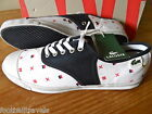 UK 7 / 9 / 10 LACOSTE LIVE RENE BOAT PLIMSOLLS SHOE Canvas Trainer NEW IN BOX
