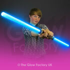 Wholesale Light Up Neon Double Sabre Sword Extending Flashing
