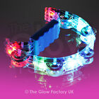 Light Up Flashing Tambourine LED Glowing