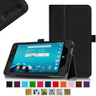 Folio Stand Case PU Leather Cover for AT&T ASUS MeMo Pad 7 LTE Tablet ME375CL
