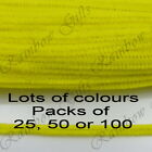 "12"" 30cm CHENILLE PIPE CLEANERS CHENILLE CRAFT STEMS CHOOSE COLOURS & PACK SIZES"