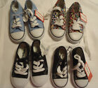 Kidgets Size 7 Or 9 choice canvas athletic Toddler Tie shoes Choice NWT