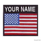 USA BADGE CUSTOM FLAG EMBROIDERED PATCH