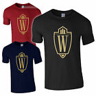 New Wayne Enterprises Gold Design Industries Batman Dark Knight Gotham Up to 5XL