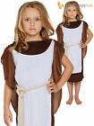 Girls Viking Fancy Dress Costume Child Saxon Warrior Outfit Historical Book Week