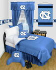 North Carolina Tar Heels Comforter Sham & Pillowcase Twin Full Queen Size LR