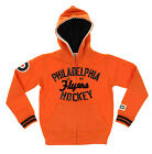 NHL Youth Philadelphia Flyers Team Classics Zip Up Hoodie, Orange