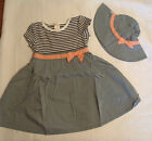 Gymboree Animal Party Chambray Dress Chin Strap Hat NWT Size 4T 3T 2T Choice