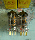 12AY7 JJ Tube Valve 6072 Röhre matched gold pins also für Mikrophon