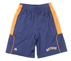 Majestic MLB Youth Houston Astros Batters Choice Shorts, Navy