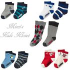 Gymboree Boys Socks 2-Pk-Fun At Heart,Anchors Away,Ski Patrol & More 2T-3T