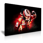 Kimi Räikkönen The Ice Man Ferrari F1 Canvas Wall Art More Sizes