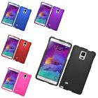 Rugged Ultra Thin Slim Snap On Hard Case Cover For Samsung Galaxy Note 4