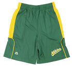 Majestic MLB Youth Oakland Athletics A's Batters Choice Shorts, Green