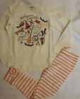 Gymboree Striped Legging Pant Ivory Halloween Shirt Outfit Size 10 8 7 6 Choice