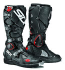SIDI CROSSFIRE 2 BLACK MOTORCYCLE OFF ROAD MOTO-X MX ENDURO BOOTS