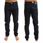 Crosshatch New Menzo Mens Jeans Straight Cut Slim Fit Stretch Denim Trousers