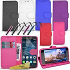 For Huawei P9 Plus - Wallet Flip Leather Stand Case Cover + Screen Guard +Stylus