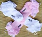 New Toddler Girls Mesh Socks Princess Lace Breathable 100% Cotton Socks Solid