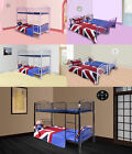 FoxHunter 3FT Single Metal Frame Bunk Bed Children Kids Twin Sleeper MBB04 New