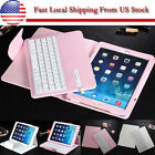 Removable Bluetooth Keyboard PU Leather Stand Case Cover Fr Apple iPad Pro 12.9""