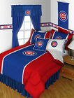 Chicago Cubs Bed in a Bag Comforter Set Twin Full Queen King Size