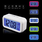LED Alarm Temperature Sounds Control electronic desktop Digital Clock table