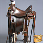 WD094WLN HILASON BIG KING WESTERN WADE RANCH ROPING COWBOY TRAIL SADDLE 15 16 17