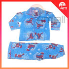 Kids Boys Spider-Man Long Sleeve Flannelett​e Cotton Pajamas PJ Nightie Sz