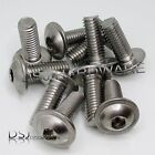 M8 - A2 Stainless Steel Hexagon Socket Flanged Button Screws / 8mm Flange Bolts