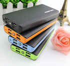 Portable 50000mAh Power Bank 4 USB LED Backup Battery Charger For iPhone 7 7Plus