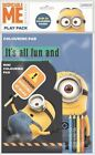Minions Stationery Selection - Choose Play Packs NotePads Pens - Despicable Me